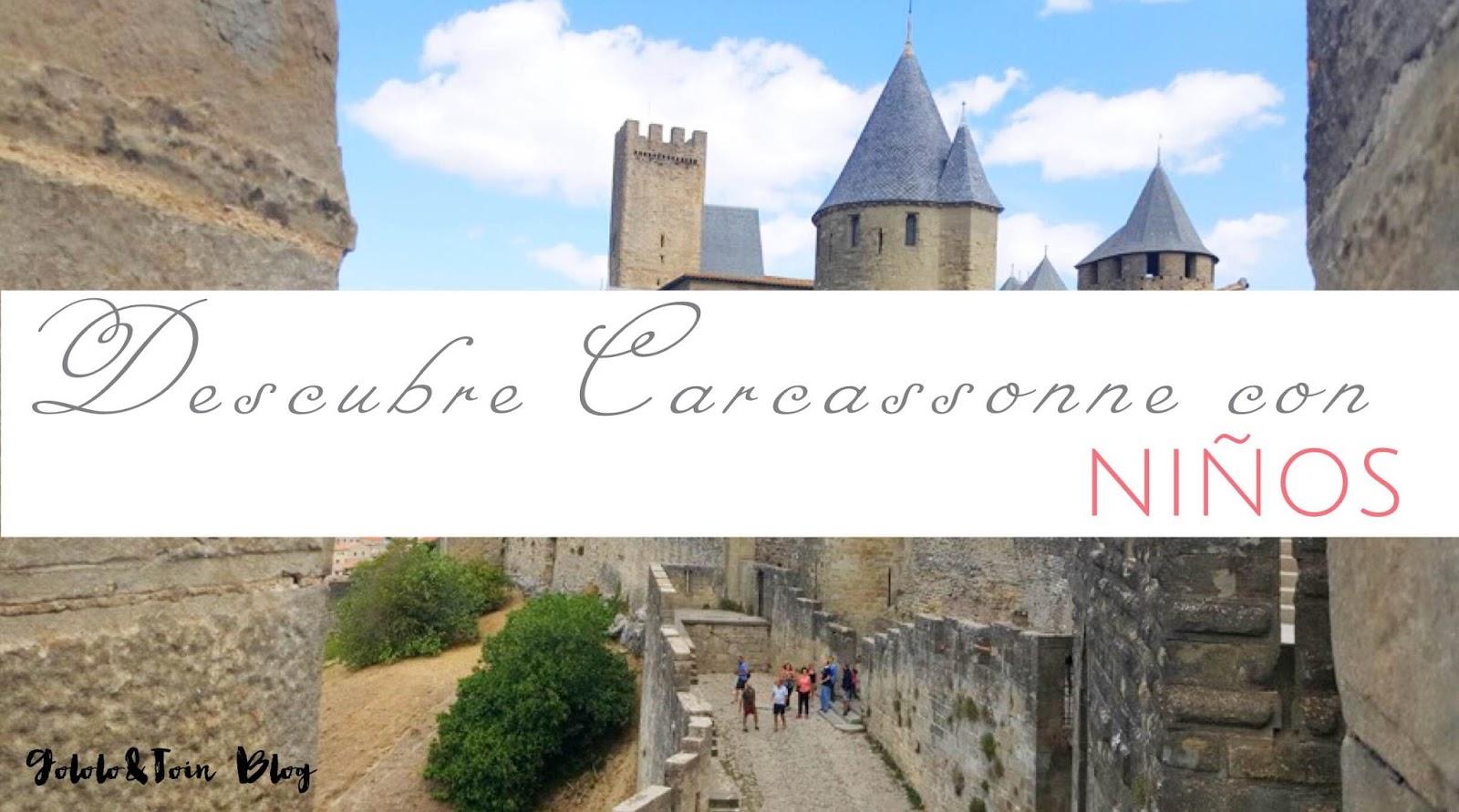 Descubre Carcassonne con niños