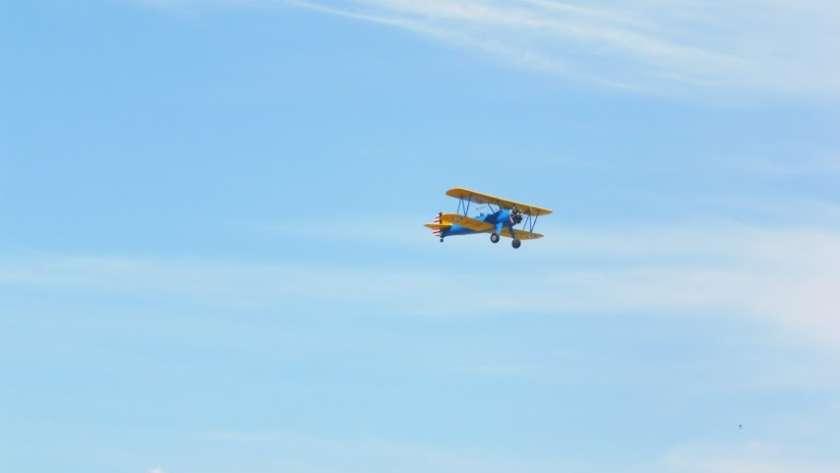 FIO, aviones históricos en vuelo