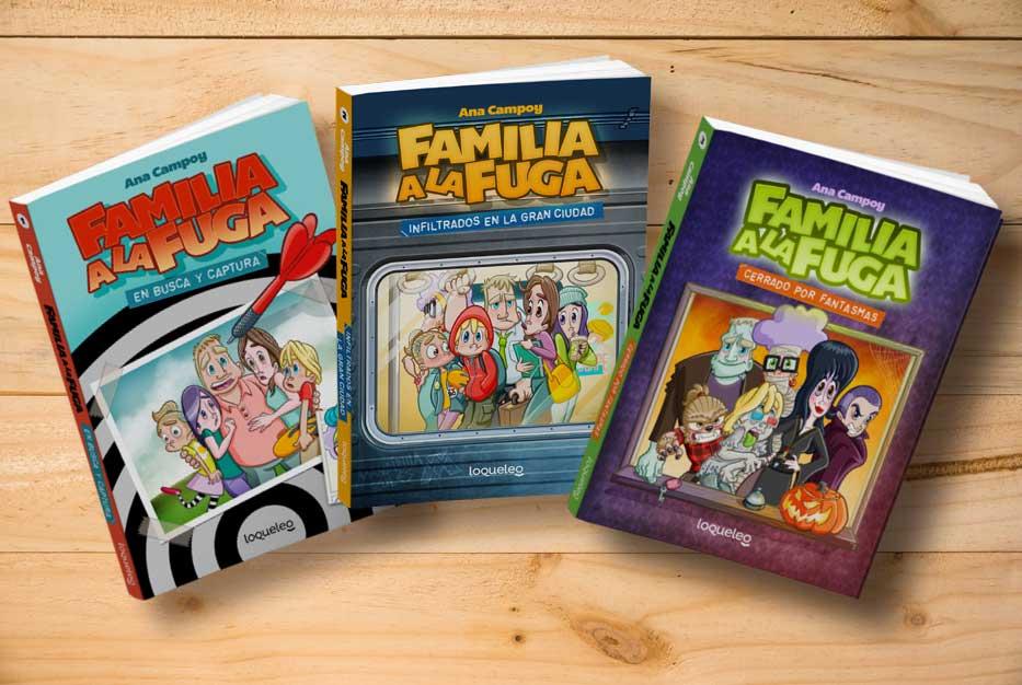 Familia a la fuga. ¡Una colección adictiva!