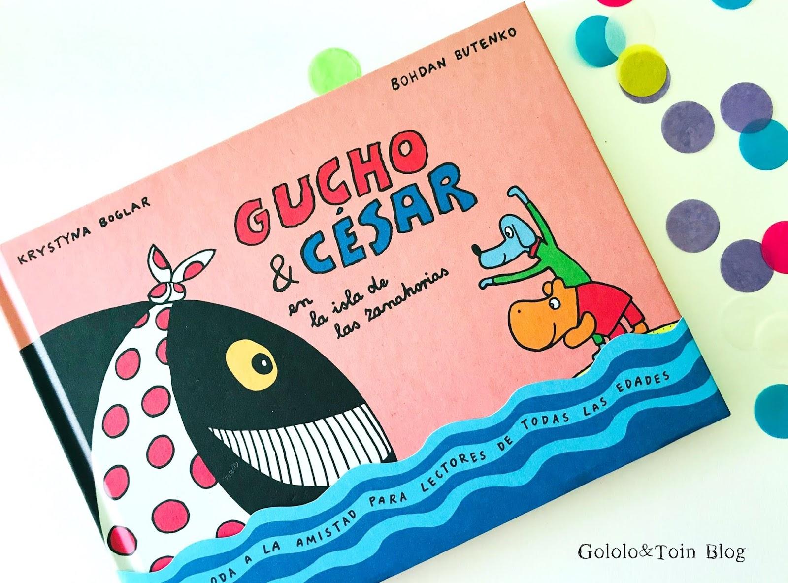 Gucho y César en la Isla de las Zanahorias