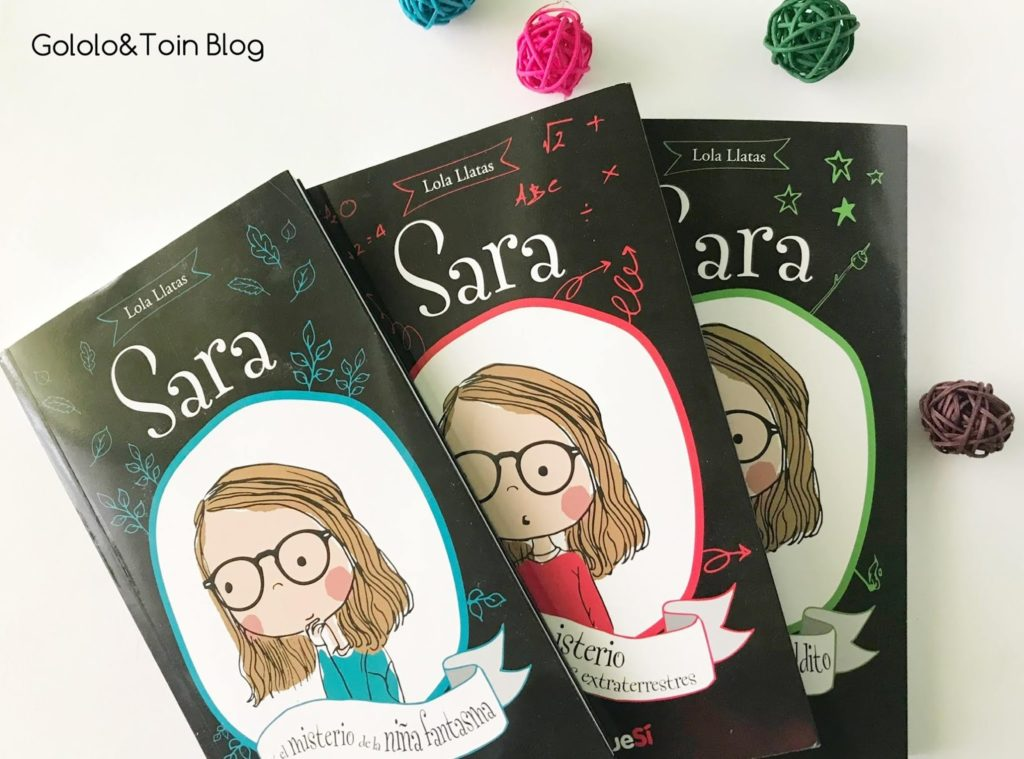 Los misterios de Sara libros juveniles