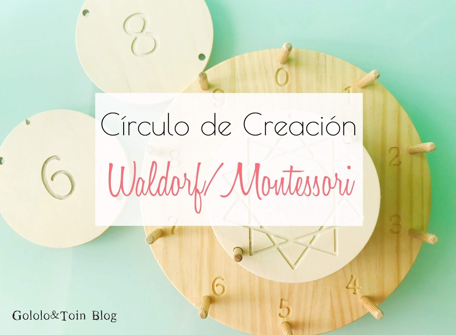 Círculo de creación Waldorf/Montessori