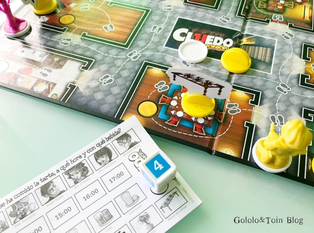 Juegos de mesa para niños Mi primer Cluedo