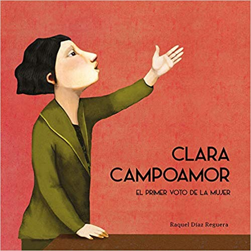 Clara Campoamor, álbum ilustrado Nubeocho