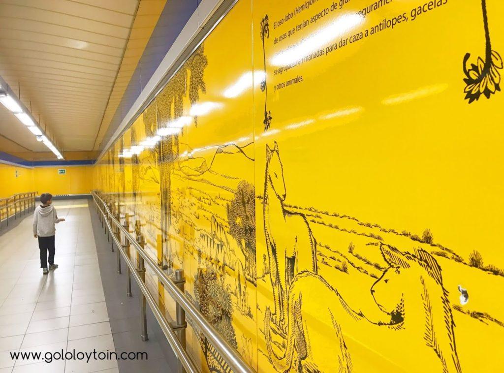 Visitar el Metro de Madrid con niños
