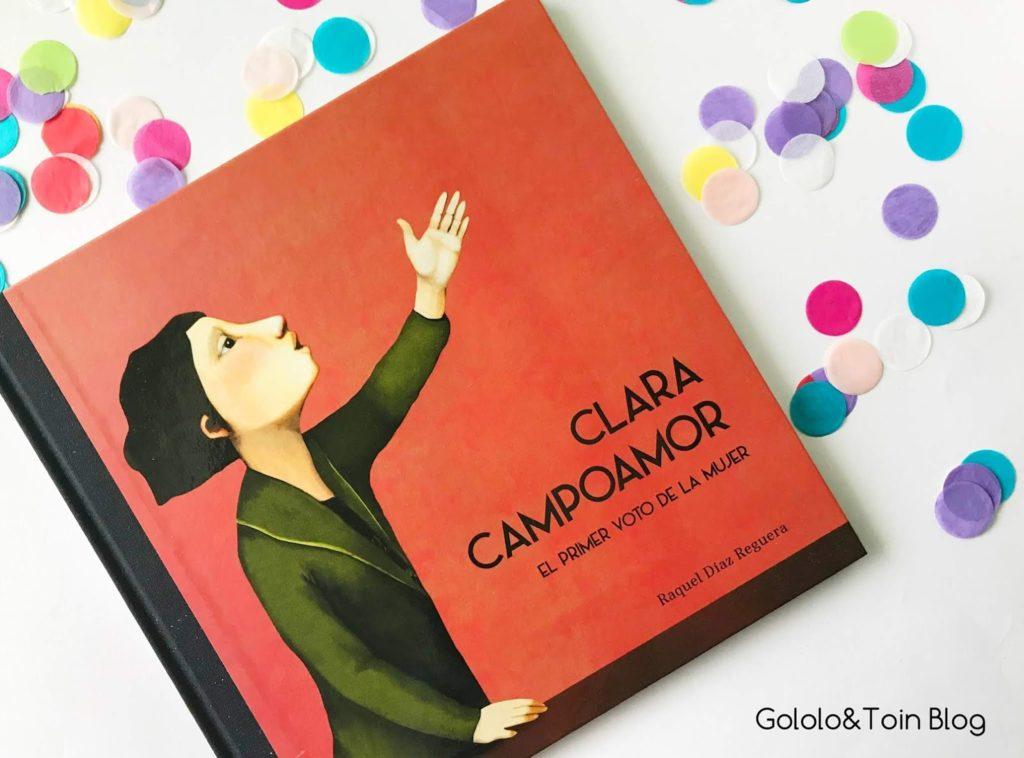 Biografias para niños Clara Campoamor NubeOcho