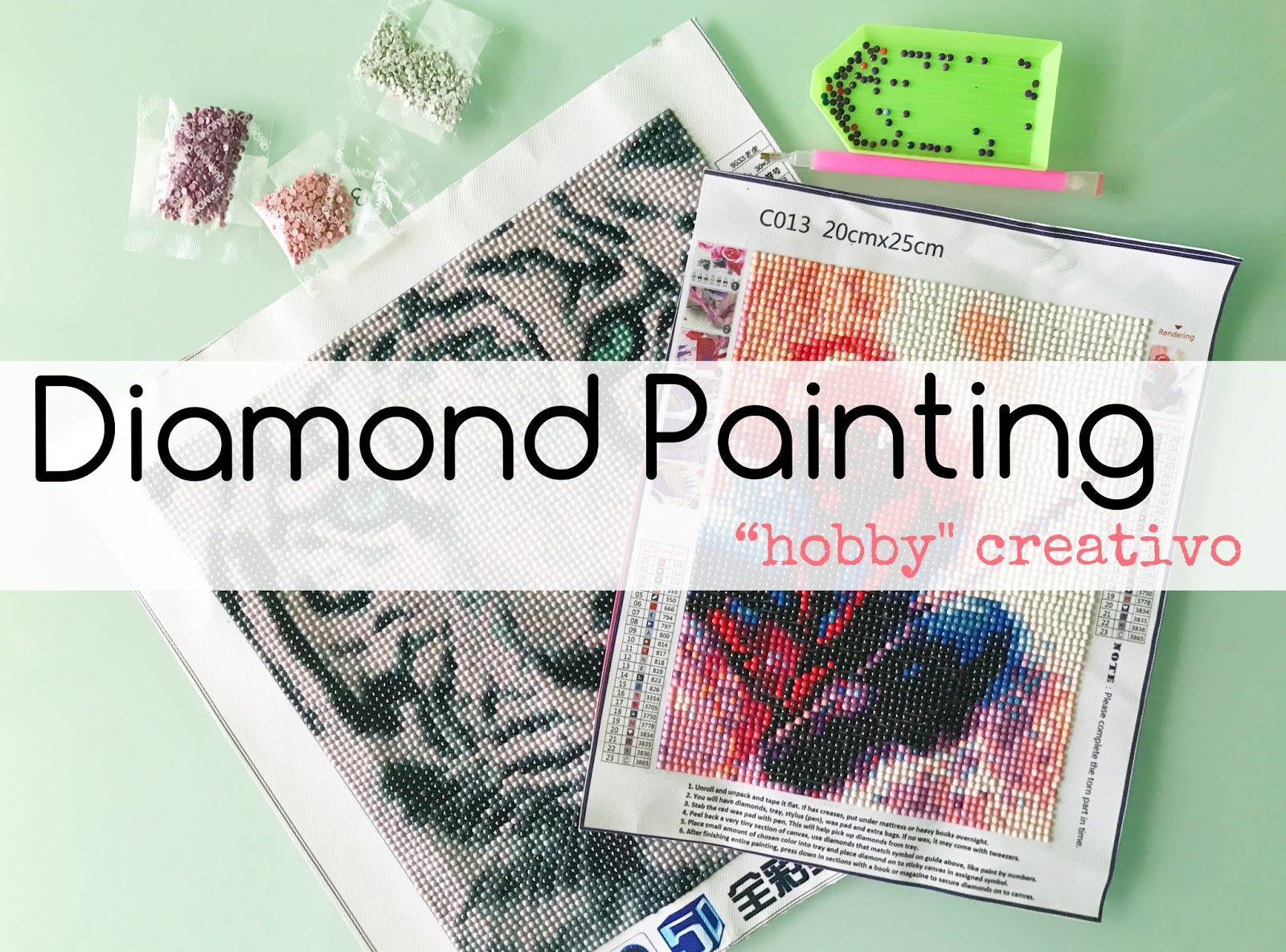 Diamond painting, un hobby creativo