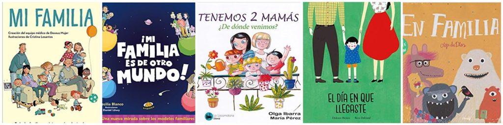 Diversidad familiar en los cuentos