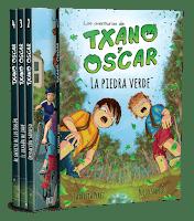 Colección de libros Las aventuras de Txano y Óscar