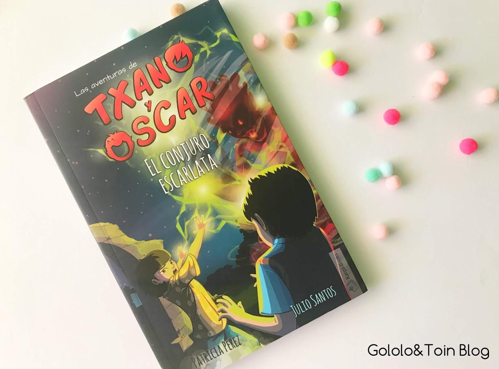 El Conjuro Escarlata. Las aventuras de Txano y Óscar