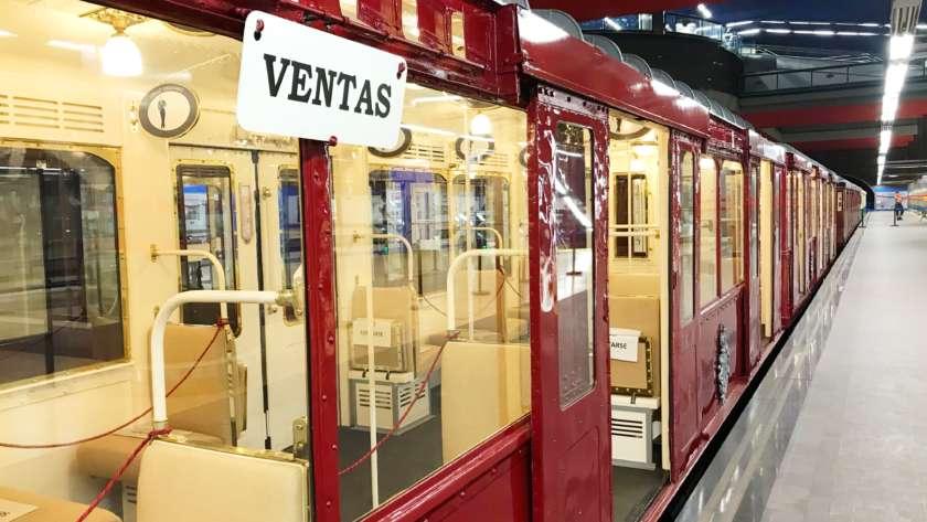 Exposición Centenario del Metro de Madrid