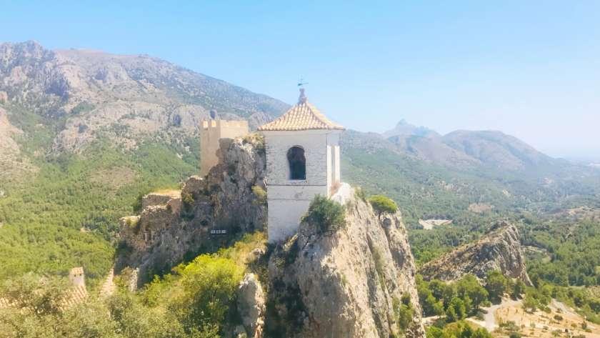 Visitar Guadalest con peques