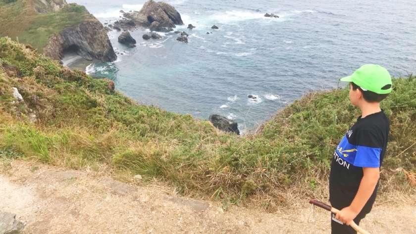 Ruta circular Cabo de Busto con niños