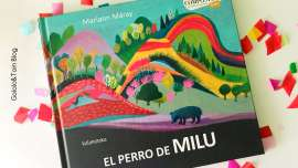 El perro de Milu álbum ilustrado