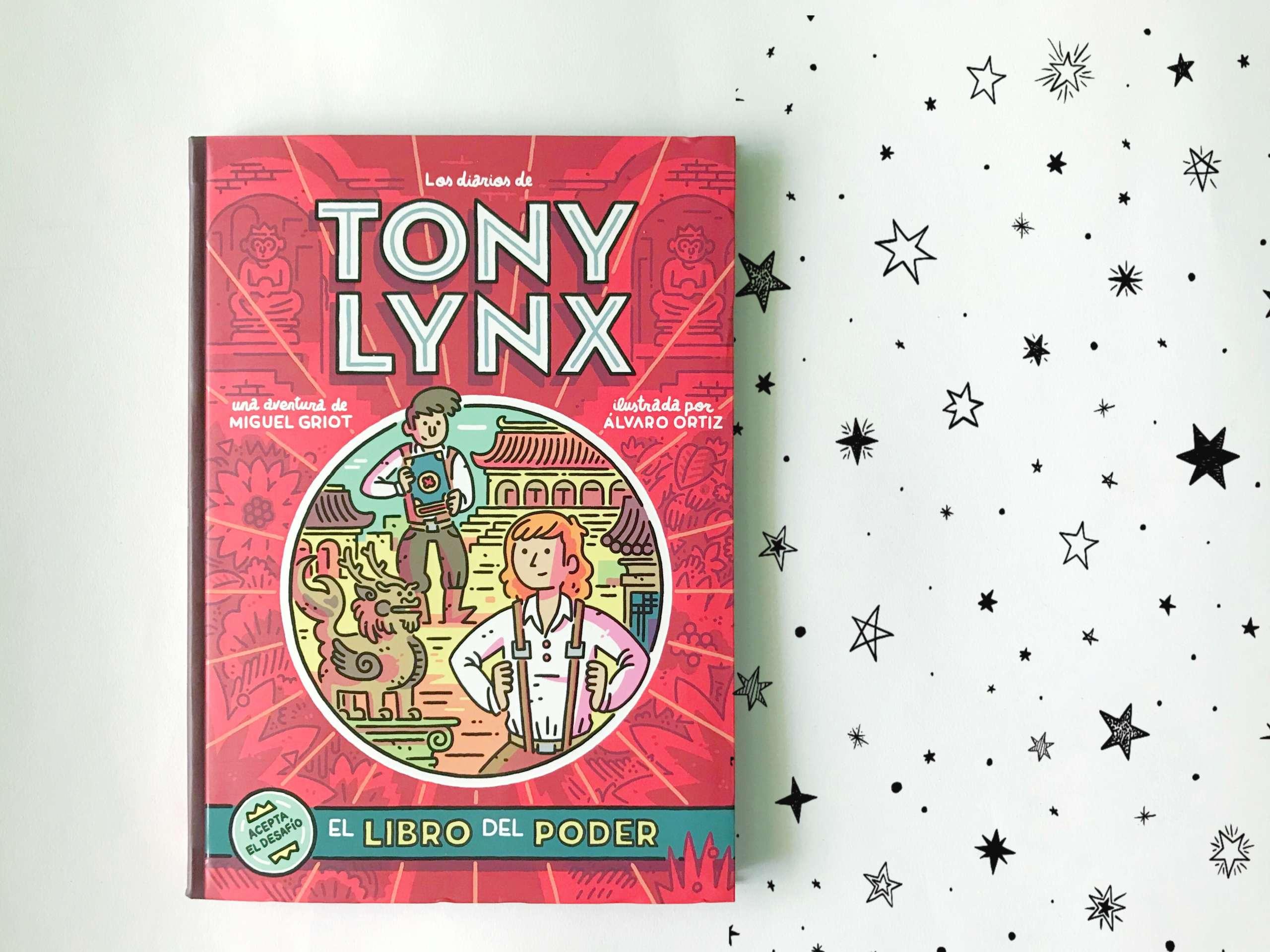 Los diarios de Tony Lynx. ¡Acepta el desafío!