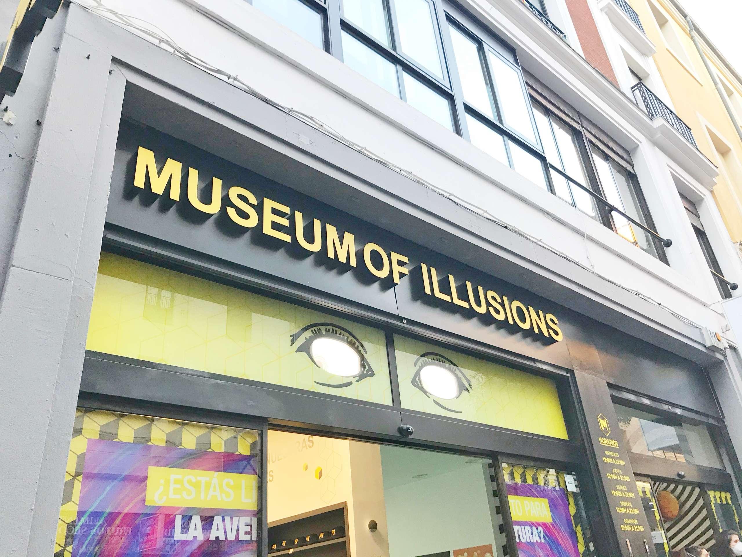 Museo de las ilusiones de Madrid