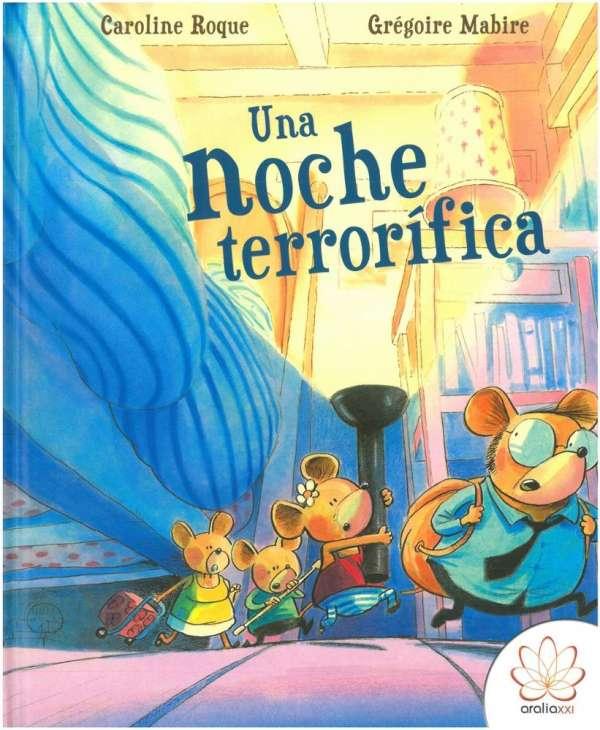 Álbum ilustrado Una noche terrorifica