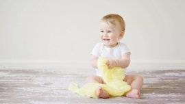 adorable baby cheerful child