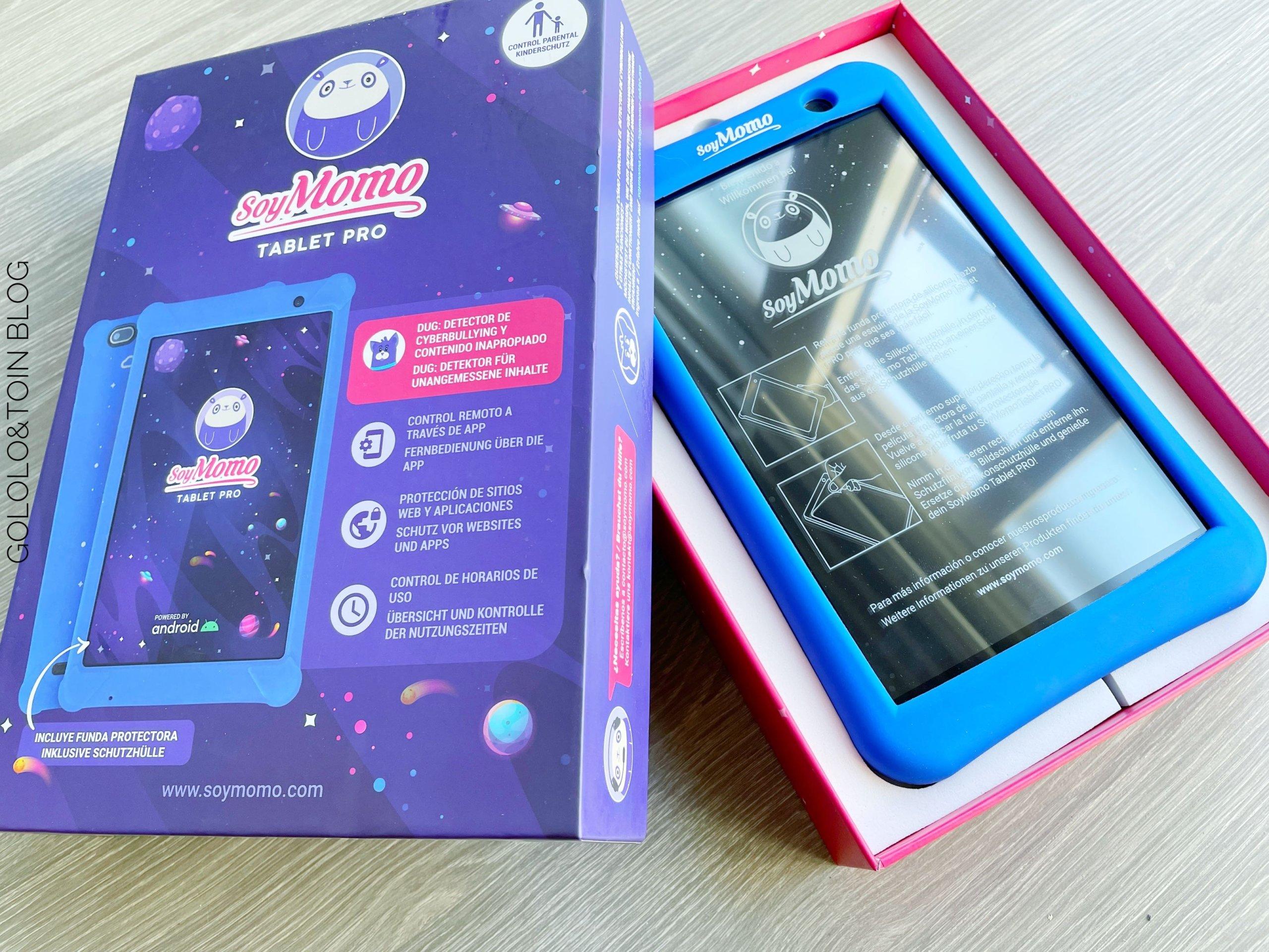 SoyMomo, una tablet para proteger a los más pequeños