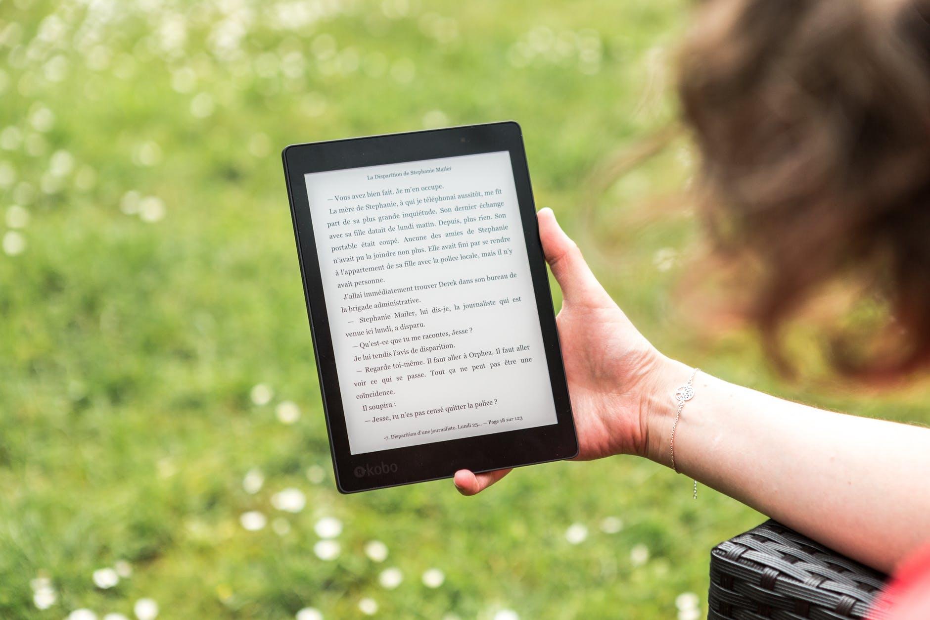 Nextory o cómo leer sin parar
